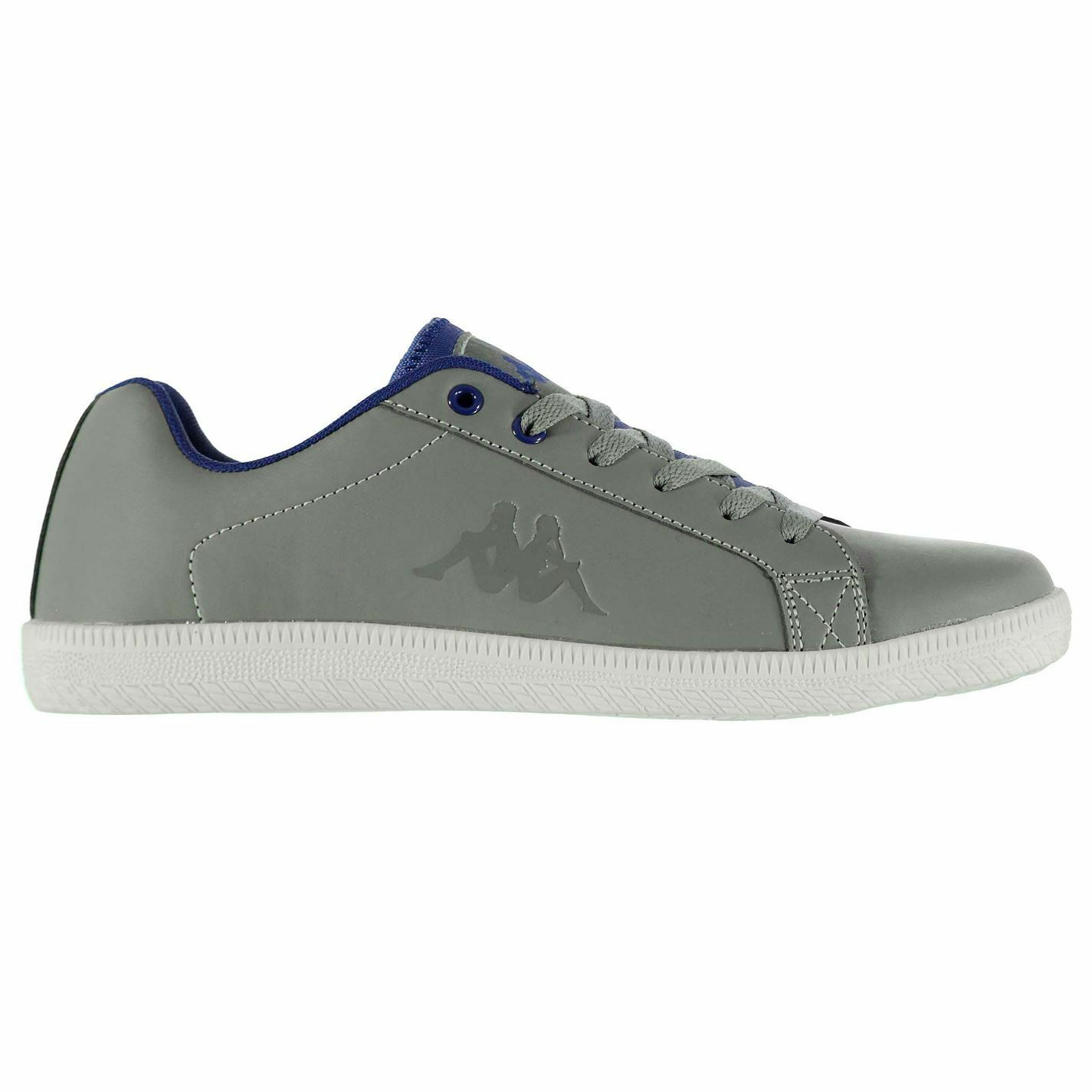 Kappa Mens Frid Trainers Sneakers Lace Up shoes Casual Stitched Detailing