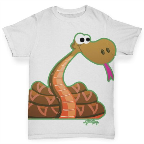 Twisted Envy Coiled Up Snake Baby Toddler Funny ALL-OVER PRINT Baby T-shirt