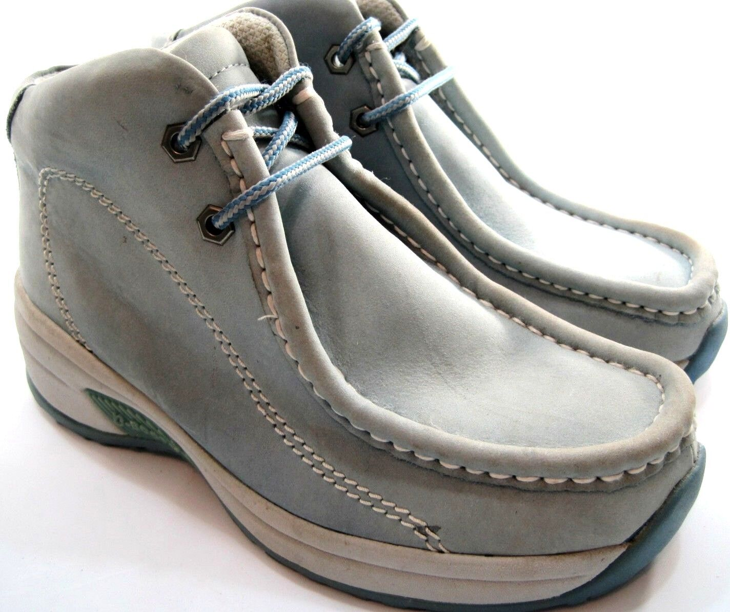Buffalino Lady B-Stiefel Desert Stiefel Größe 7 Euro 37 Blau Lace-Up Chukka