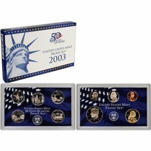 2003 US Mint Proof Set