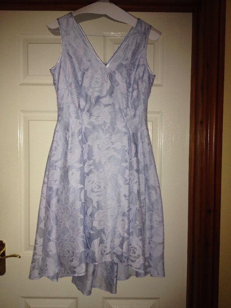 Dress By COAST  Size 10 Baby bluee STUNNING for wedding prom etc