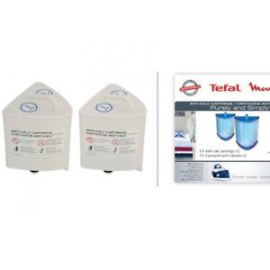 Tefal-2x-cartuccia-filtro-acqua-ferro-Purely-Simply-SV5005-SV5020-SV5022-SV5030