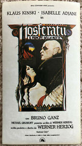 Filme & Dvds Bescheiden Poster Plakat Aufkleber Sticker 1978 Klaus Kinski Nosferatu Principe Della Notte Einen Einzigartigen Nationalen Stil Haben
