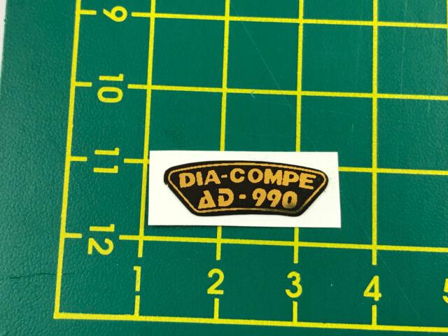 old school bmx decals stickers dia compe ad 990 u brake black gold