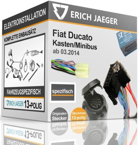 Kit 13 broches spécifique au pour FIAT DUCATO encadré//monospace à partir de 02.2011