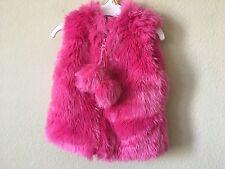 df6814512 Buy Widgeon Toddler Girls  Zip up Faux Fur Vest 3080 Ssp pink ...