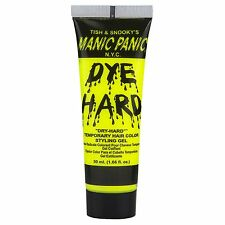 Manic Panic Dye Hard Temporary Hair Color Styling Gel 50 mL Electric Banana