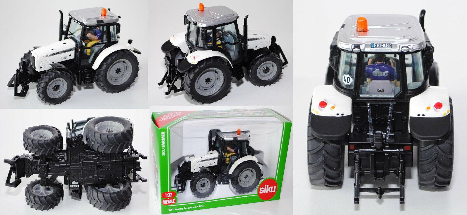 SIKU FARMER 3051 00404 Massey Ferguson 5460, blancalu, SSC Spécial Modèle 2009 1 32
