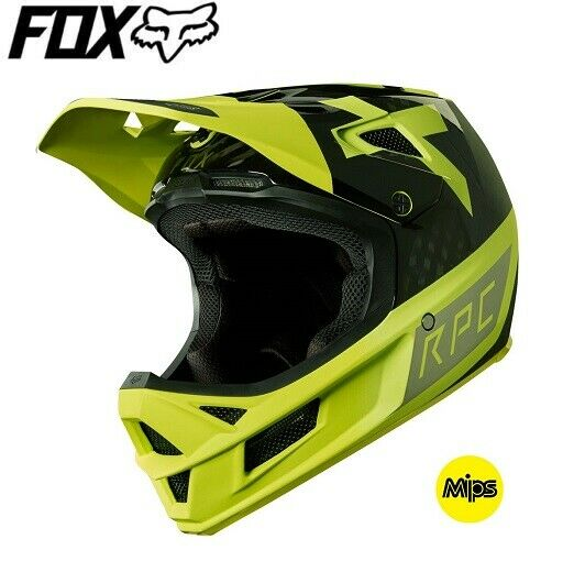 FOX  Rampage Pro Carbon Preest MIPS Full Face Downhill MTB Helmet - Yellow  wholesale price and reliable quality
