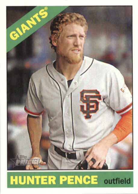 2015 Topps Heritage #488 Hunter Pence SP BX F40