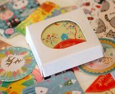 Caja De Lindo Kawaii Kitsch Dibujos animados Animales Pegatinas