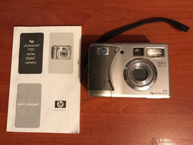 hp photosmart 935 5 3mp digital camera silver ebay rh ebay com hp photosmart m525 camera manual hp photosmart 145 user manual