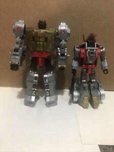 Transformers Power Of The Primes Grimlock And Slug Slag Dinobot Complete