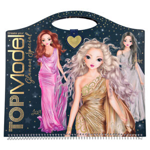 depesche topmodel create your glamour special colouring book - 10733a | ebay