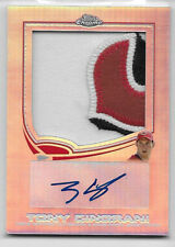 2013 13 TOPPS CHROME TONY CINGRANI ROOKIE AUTO JUMBO SUPER PATCH LOGO 1/10 1/1