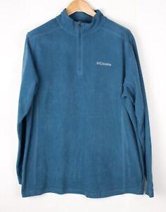 Columbia Herren Freizeit Reißverschluss Vlies Strickjacke Pullover Größe L