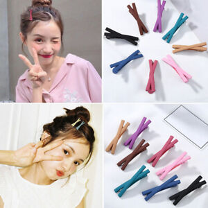 Sweet Candy Color Women Banana Clip Ponytail Holder Hairpin Hairclip Accessories