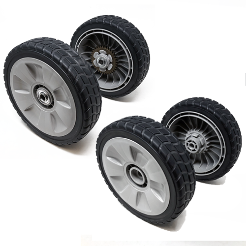 Set of 4 – Honda HRR216 Wheels (42710-VE2-M02ZE & 44710-VL0-L02ZB) - SHIPS FREE