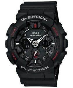 Casio-G-Shock-Analogue-Digital-Mens-Black-Motorcycle-Watch-GA-120-1A-GA-120-1ADR