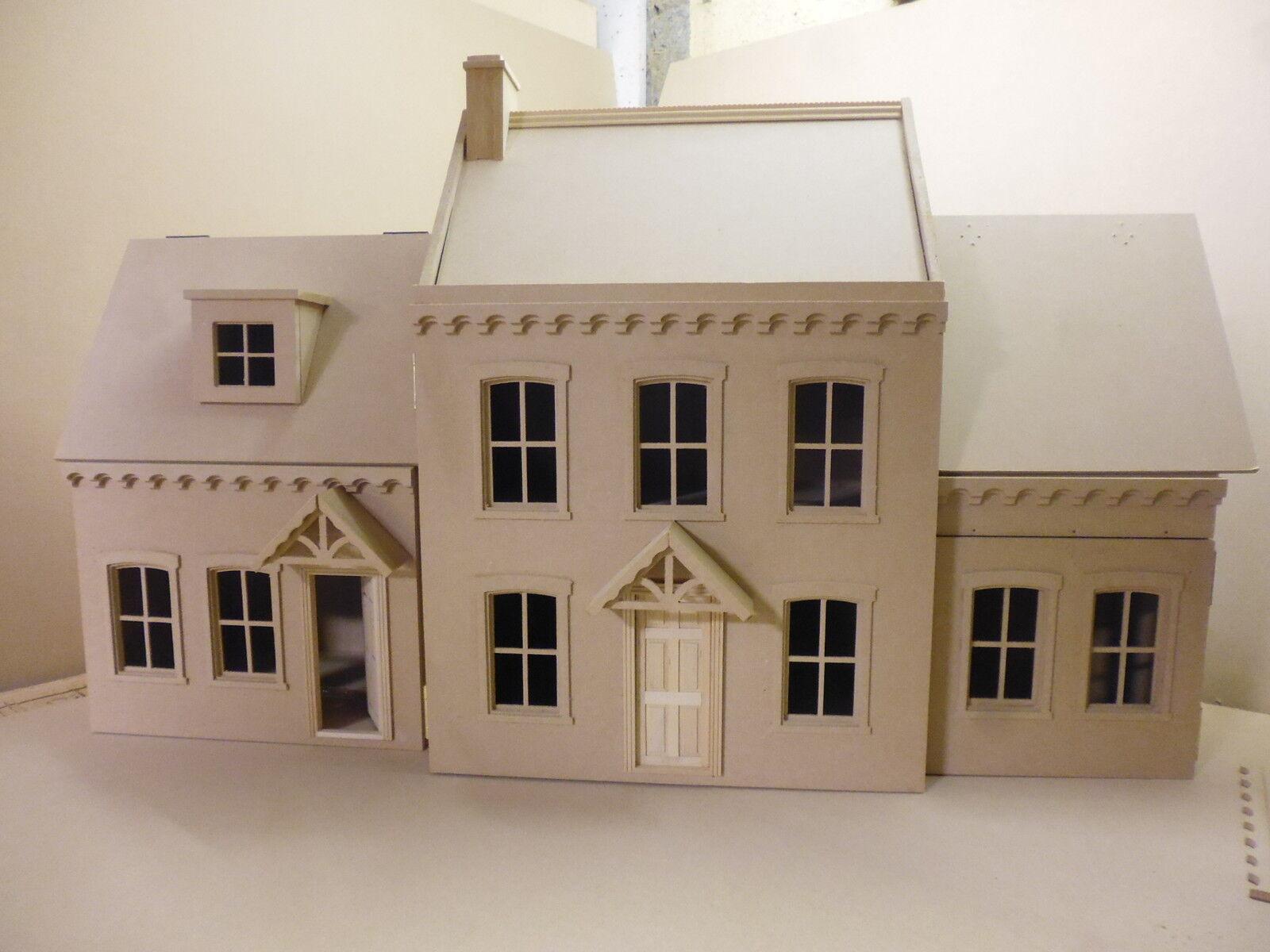 1 12 Dolls House stratfield gamma & Kew gamma kit da casa delle bambole diretto