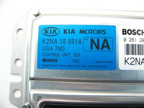 NEW GENUINE OEM For 02-03 KIA Spectra Engine Control Computer ECU 0K2NA18881A