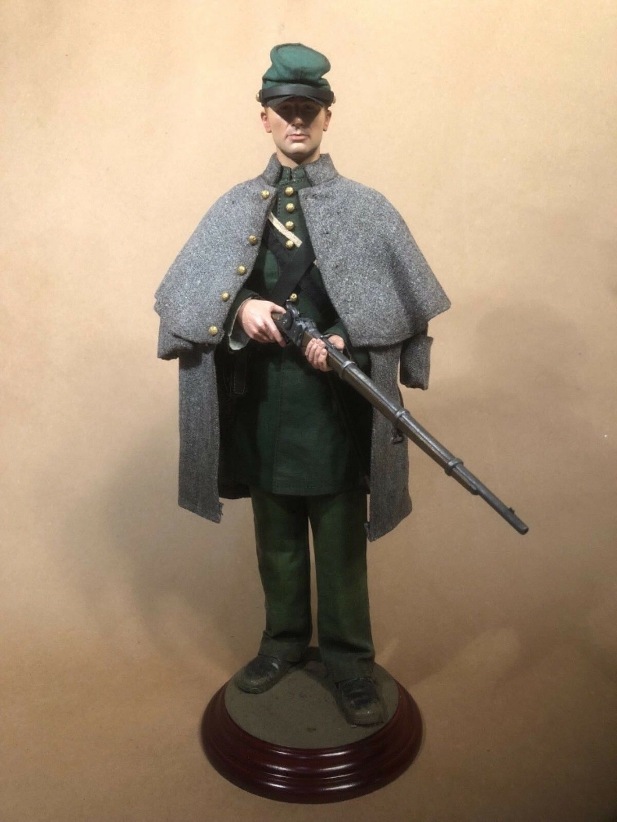 Custom 1/6 Civil War Union Berdan Sharpshooter Sideshow Battle Gear Toys