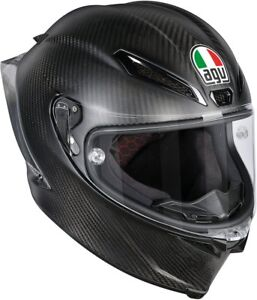 CASCO-INTEGRALE-AGV-PISTA-GP-R-SOLID-MATT-CARBON-TAGLIA-M-S