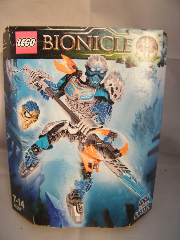 Nouveau LEGO BIONICLE 71307 TOA Gali Unité de l'eau figure dans une boîte scellée Rare