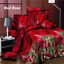 4Pcs-Printed-3D-Bedding-Set-Queen-Size-Quilt-Cover-Bed-Sheet-Pillowcases-Textile thumbnail 4