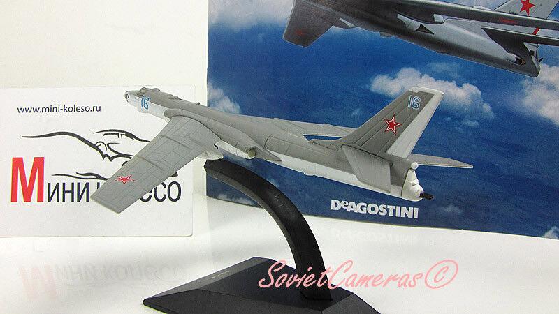 1 250 ruso soviético soviético soviético Tupolev Tu-16 Tejón bombardero estratégico Deagostini Nuevo Raro 97d1bb