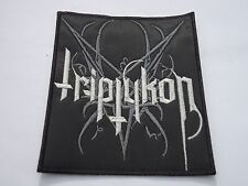 TRIPTYKON BLACK/DEATH METAL EMBROIDERED PATCH