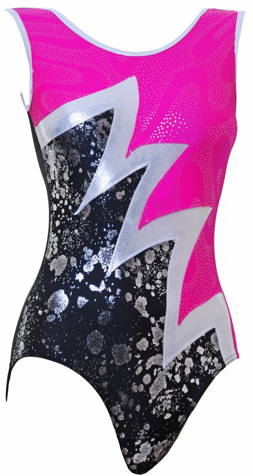 Gymnastic leotard No Sleeves girls gym all sizes FAST DELIVERY C