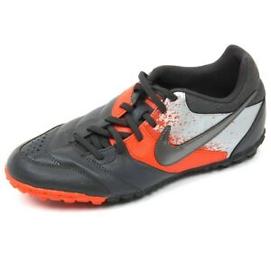 C5460 scarpa calcetto uomo NIKE 5 BOMBA grigio scuro soccer football shoe man