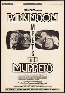 Michael-PARKINSON-MEETS-THE-MUPPETS-Orig-1979-Trade-AD-promo-BBC-TV-Henson