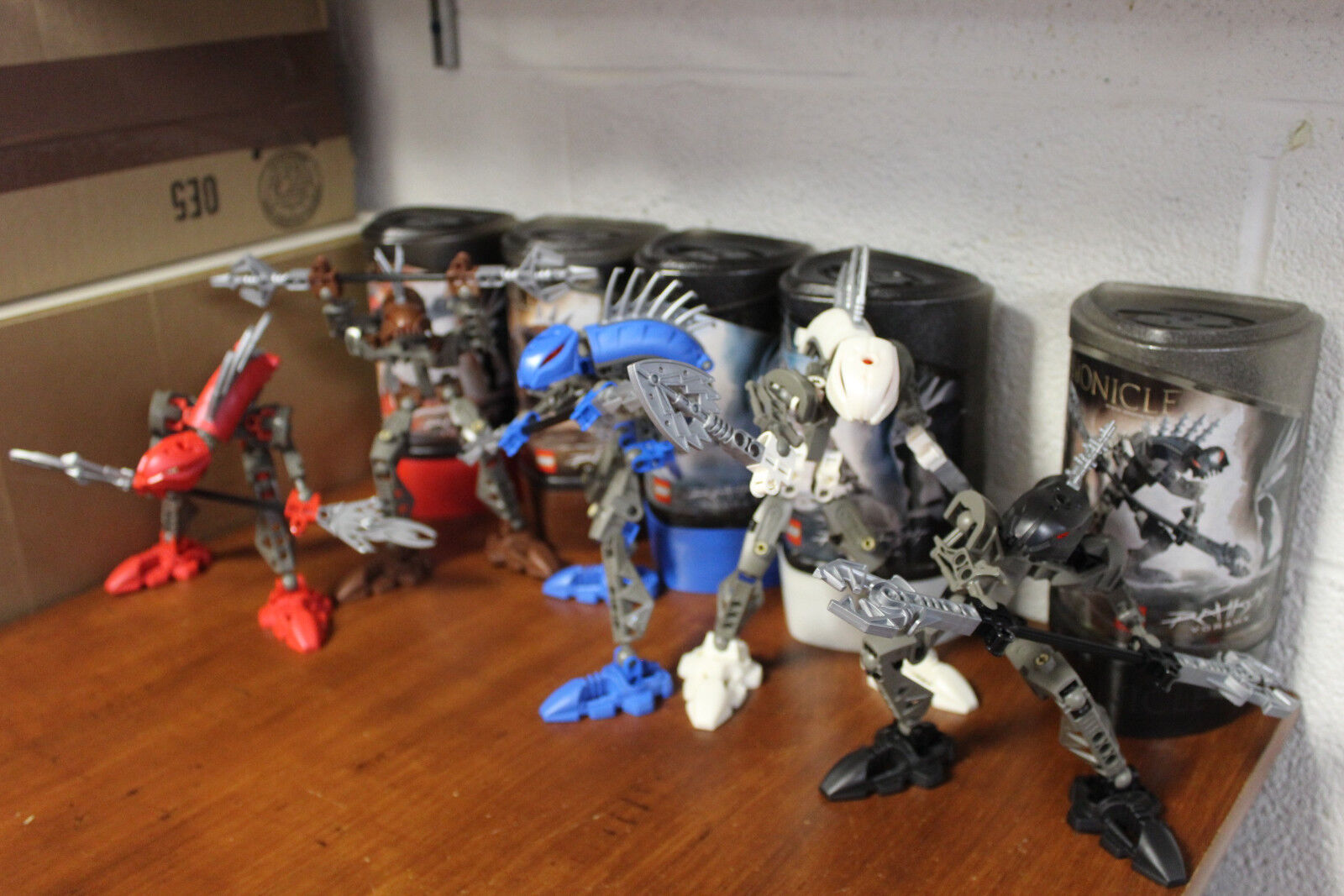 Lego Bionicle Rahkshi Collection of 5 - Ages 7+   8592, 8587, 8590, 8588, 8591