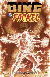 DAS DING UND DIE FACKEL 1 VARIANT deutsch ALEX ROSS Fantastic Four MARVEL 2 in 1
