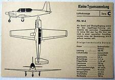 DDR Kleine Typensammlung Luftfahrzeuge - PZL M-4