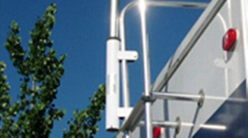 fiberglass telescoping antenna rv ladder ramp ground 28FT FLAG POLE /& MOUNT