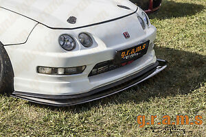 Details about Honda Integra Front Bumper Splitter / Lip for Performance,  Bodykit V6