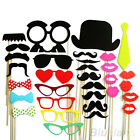 32 * Photo Booth Props Mustache Lip Stick Wedding Happy Christmas New Year Party