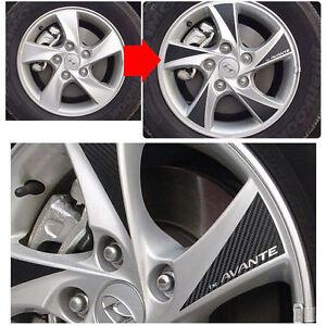 2011 Sportage R turbo GDI 18inches Carbon Wheels Mask Decal Sticker No.25 Trim