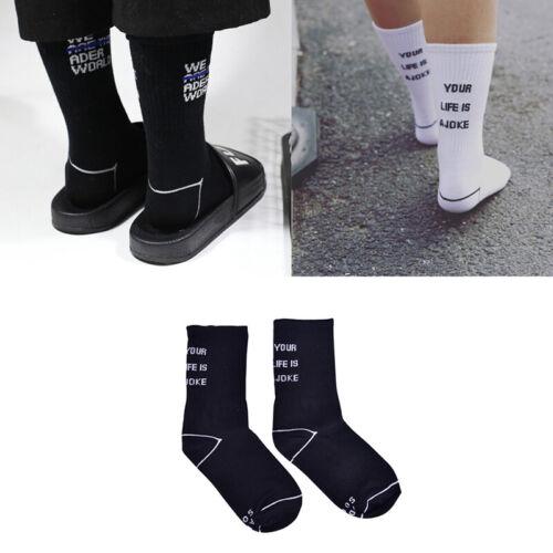 Women Men Cotton Sokcs High Street Skateboard Harajuku Sprots Socks Fashion VQ