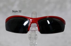 1/3 1/4 BJD SD 60cm 45 sun glasses sunglasses Dollfie Red Black lens Style 22