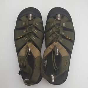 KEEN-1018941-Men-039-s-Newport-Sandals-Washable-Olive-Water-Hiking-Shoes-size-9-5-M