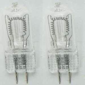 2 X 230 V 300 W Lampe Halogène G 6,35 Stylet Socle Studio Lampe Gx-6, 35 Gx6, 35 Varytec-afficher Le Titre D'origine