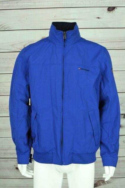 af5b71960 Men's Tommy Hilfiger Yacht Jacket Windbreaker Waterstop Blue L Large