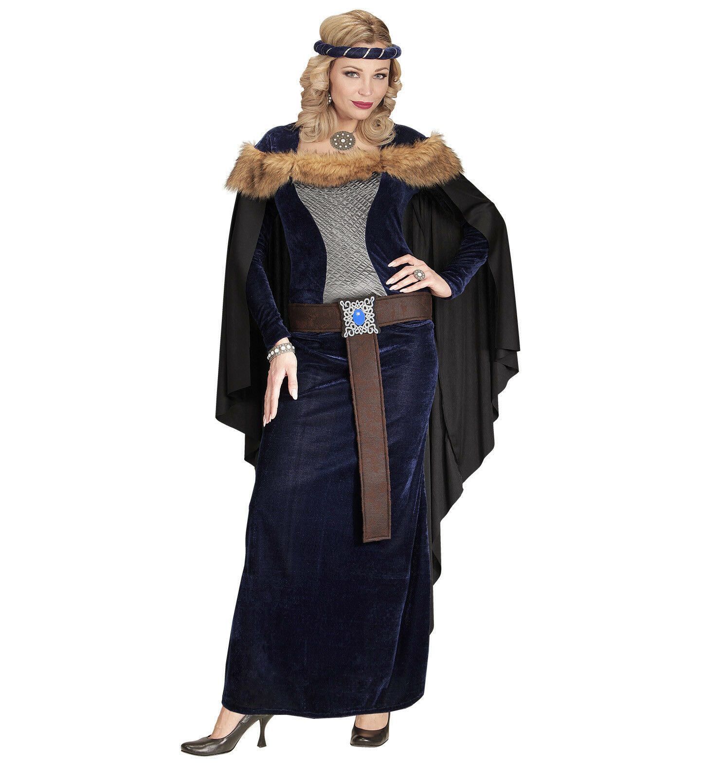 Game Of Thrones - Medieval Princess Fancy Dress Costume Style Women Female Dress