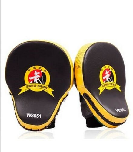 Hand Target MMA Focus Punch Pad Boxing Training Gloves Mitts Karate Muay 2pcs