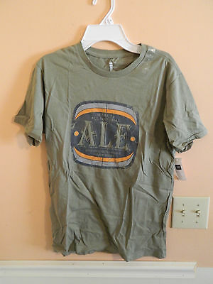 GAP Mens Blue I DRINK BEER Graphic Short Sleeve T-shirt Size L,XL NWT