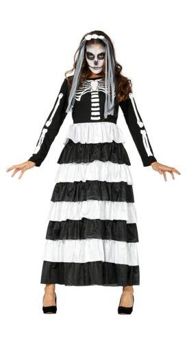 Premium Squelette Mariée damne nouveau-femmes Carnaval déguisement costume